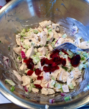 The Healthy Bachelorette: Spring Fresh Chicken Salad