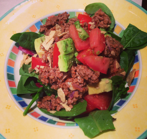 Taco Salad from The Healthy Bachelorette
