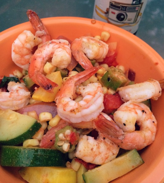 The Healthy Bachelorette: Southern Summer Saute