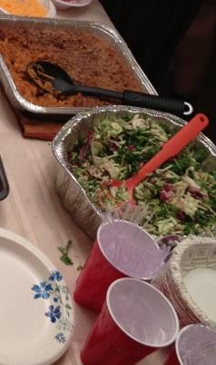 7 foods salad