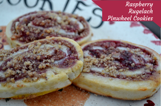 The Healthy Bachelorette: Raspberry Rugelach Pinwheel Cookies (1)